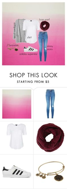 """""""Geen titel #36"""" by trendygirlxx on Polyvore featuring mode, Topshop, BCBGMAXAZRIA, adidas en Alex and Ani"""