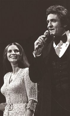 Johnny & June on stage 1978. This is the year I saw them perform at The Don Haskins Center in El Paso, Tx. I even got their autographs.