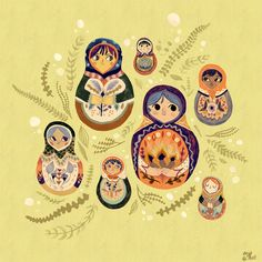 paperalligator:    Realization: matryoshka would make for neat Kit-Cat Clocks. Though I'm not sure what would serve as the tail…..
