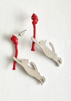 Quirky Accessories - So Gosh Yarn Cute Earrings