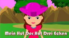 Mein Hut, der hat drei Ecken + 35 min deutsche Kinderlieder | Kinderlied...
