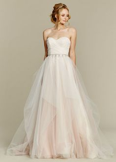 Blush Bridal - Blush by Hayley Paige Wedding Dress Dolce, Sold in store, call for details (910) 491-3460  (http://www.loveblushbridal.com/blush-by-hayley-paige-wedding-dress-dolce/)