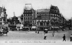 Moulin Rouge avant l'incendie qui l'a détruit le 27 février 1915