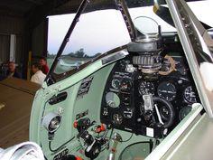 spitfire cockpit - Google Search