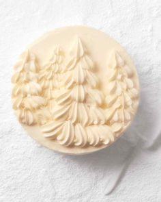 Powdered-Sugar Coconut Layer Cake