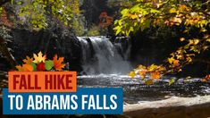 Fall Hike to Abrams Falls in Cades Cove, Great Smoky Mountains National Park - YouTube Smoky Mountain National Park, Cades Cove, Great Smoky Mountains, Niagara Falls, Waterfall, National Parks, Hiking, Places, Youtube