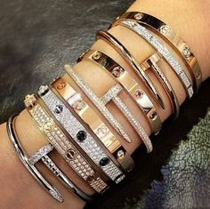 Which Cartier bracelet do you like?