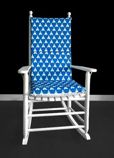 Blue Tee Pee Wig Wam Rocking Chair Cushion And Pads | affordable, designer, custom, handmade, trendy, fashionable, locally made, high quality Outdoor Chairs, Outdoor Furniture, Outdoor Decor, Ikea Kids Room, Rocking Chair Cushions, Tee Pee, Kids Room Organization, Kids Room Design, Slipcovers For Chairs