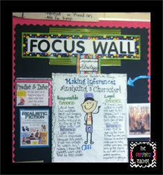 The Pinspired Whole Brain Teacher: Using a Focus Wall, Highlighting Current Reading Strategies, and Classroom Walkthroughs