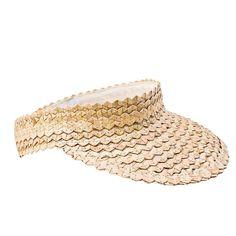 Seminyak Straw Visor Lauren Liess, Straw Visor, Denim Fabric, Resort Wear, Sun Hats, One Size Fits All, Headbands, Cuff Bracelets, Hand Weaving