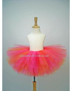 Diy pink-orange-adult-tutu for bachelorette party?