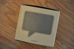 Speech bubble-shaped Speak-er now on sale, we take a listen