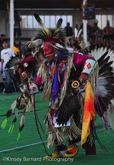 Elder dancer at the 2010 Blackfeet Pow wow.
