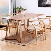 Dining Chairs, Dining Table, Outdoor Furniture Sets, Outdoor Decor, Wishbone Chair, Wood, Home Decor, Decoration Home, Woodwind Instrument