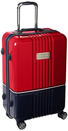 Tommy Hilfiger Duo Chrome 24 Inch Spinner Luggage, Red/Na... http://www.amazon.com/dp/B0148NDJ3O/ref=cm_sw_r_pi_dp_QJ4gxb1BBDJMW