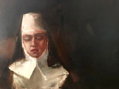 """""""Confession is always weakness. The grave soul keeps its own secrets, and takes its own punishment in silence."""" Oil on Polyester Nicole Pletts Contemporary Paintings, Oil, Contemporary Art Paintings, Butter"""