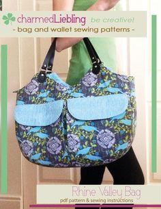 Rhine Valley Bag pattern on Craftsy.com