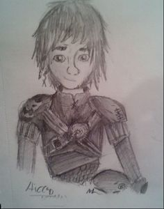 Hiccup Sketch by Maggie Rice A random sketch I did. :).