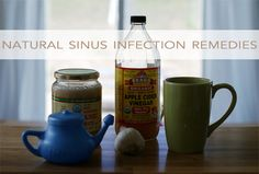 Apple Cider Vinegar: 2 teaspoons ACV, 12 oz. of water and 5 drops of stevia. 3-4 glasses the first day, as an added benefit, staying really hydrated, which is important for clearing the sinuses.  garlic can be used in a variety of ways, one is as an immune booster. It's most effective raw, crush a clove of garlic, covered it in raw honey twice that first day.