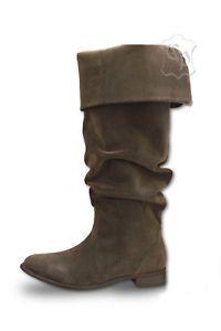 Mittelalter Stiefel Schuhe Piratenstiefel LARP Pirat Ritter