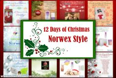 """The 12 Days of Christmas, Norwex Style - Join us, as we celebrate a """"green"""" Christmas. Christmas Open House, Green Christmas, 12 Days Of Christmas, Christmas Sale, Norwex Cleaning, Green Cleaning, Cleaning Tips, Norwex Consultant, Independent Consultant"""