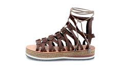 Designer Sandals, Gladiator Sandals, Leather, Shopping, Fashion, Moda, Fashion Styles, Fashion Illustrations