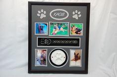 "20"" x 24"" Dog Memorial Shadow Box...  R.I.P. Kaos"