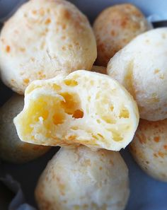 Pão de Queijo (literally 'cheese bread' in Portuguese and don't ask me to pronounce it!) rates as one of my favourite foods in the world. If you ever come across these delectable little cheese puff...