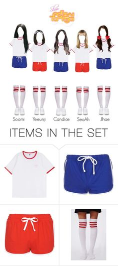 """""""Heartbeat (Boom-ba-doom) Show! Music Core Performance"""" by heroine-official ❤ liked on Polyvore featuring art"""