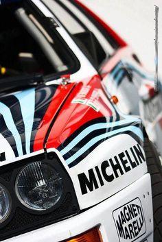 Lancia Delta - someone has had the polish out.