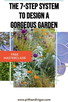 Transform your garden like a professional would. Learn how to create layouts, draw plans, pick the perfect plants and create something beautiful for your home.