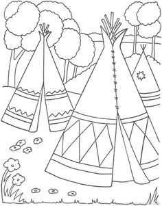 Native Americans | Free Printable Coloring Pages – Coloringpagesfun.