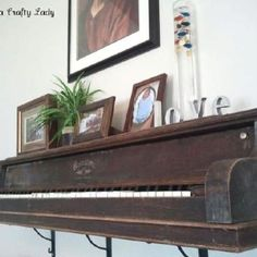 Old piano. I found my mantel piece!!!!!