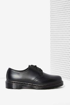 Dr. Martens 1461 3-Tie Leather Shoe - Black | Shop What's New at Nasty Gal