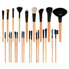 Amazon.com : Dragonpad 32 PCS Makeup Brush Set Black Carry Pouch : Beauty