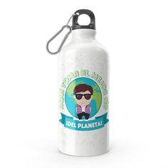 Termo - El termo del mejor tío del planeta, encuentra este producto en nuestra tienda online y personalízalo con un nombre. Water Bottle, Drinks, Carton Box, Store, Crates, Drinking, Beverages, Water Bottles, Drink