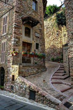 Assisi , Umbria , Italia