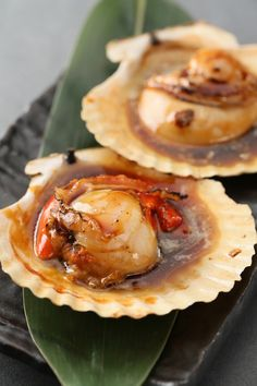 REBLOGGED - Grilled Scallops with Soy Sauce Butter, Popular Izakaya (Japanese-style Pub) Meal