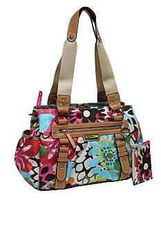 Lily Bloom Triple Section Satchel ... not the same print as this one i have but the same style...love it!