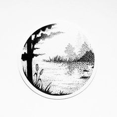 "381 Likes, 4 Comments - Patricia P (@arty.trisha) on Instagram: ""Finished design... #water #lake #river #tree #woods #forest #grass #rocks #art #drawing…"""