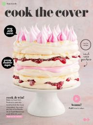 Taste.com.au Magazine Jan/Feb 2015: Cook the cover