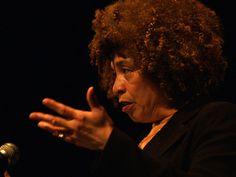 Legendary civil rights activist Angela Davis was...  