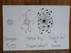 zentangle faciles - Buscar con Google