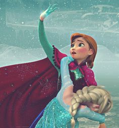 Disney Frozen Elsa and Anna #DisneyFrozen