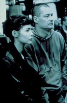 Jean-Pierre Jeunet and Audrey Tautou in O Fabuloso Destino de Amélie (2001)