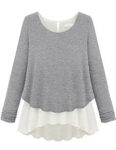 Grey+Long+Sleeve+Ruffles+Chiffon+Sweater+20.26