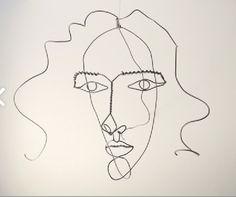 Alexander Calder  face of Medusa  circa 1930  Wire