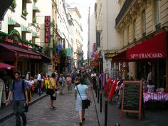 Rue Mouffetard, Paris. Where we spent our 5th anniversary...