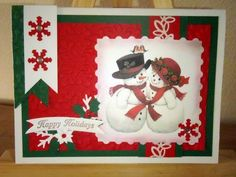 Kika's Designs : Snowmen in Love