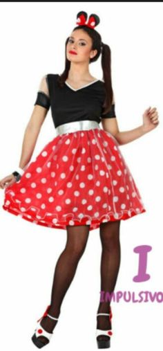 Minnie Mouse Disfraz! Minnie MouseCostume  sc 1 st  Pinterest & Disney Minnie Mouse Adult Costume (54 AUD) ? liked on Polyvore | My ...